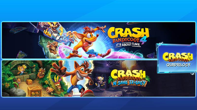 Crash Bandicoot Quadrilogy