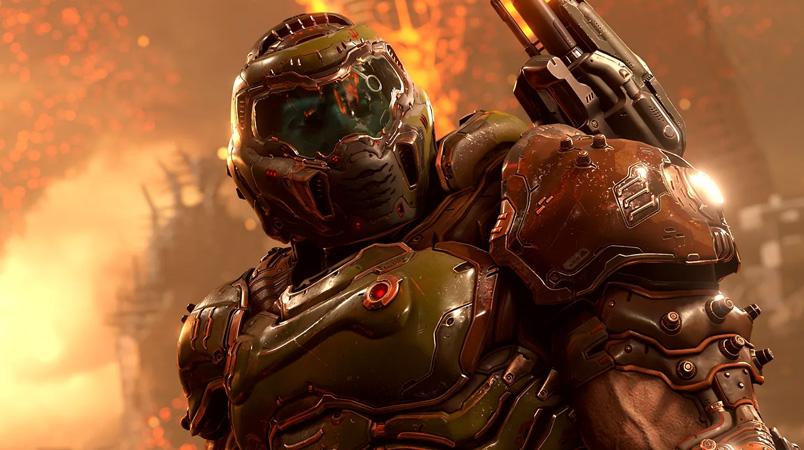 Los modos gráficos de DOOM Eternal en Xbox Series X|S y PS5