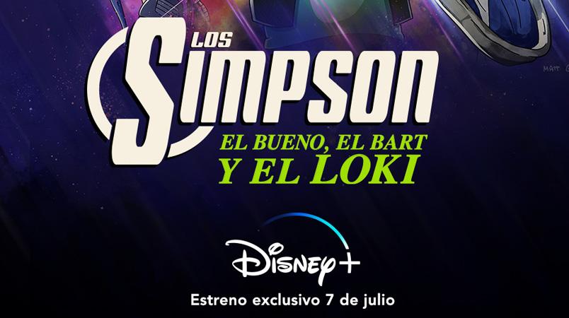 El Bueno, El Bart y El Loki solo por Disney+ en julio 2021