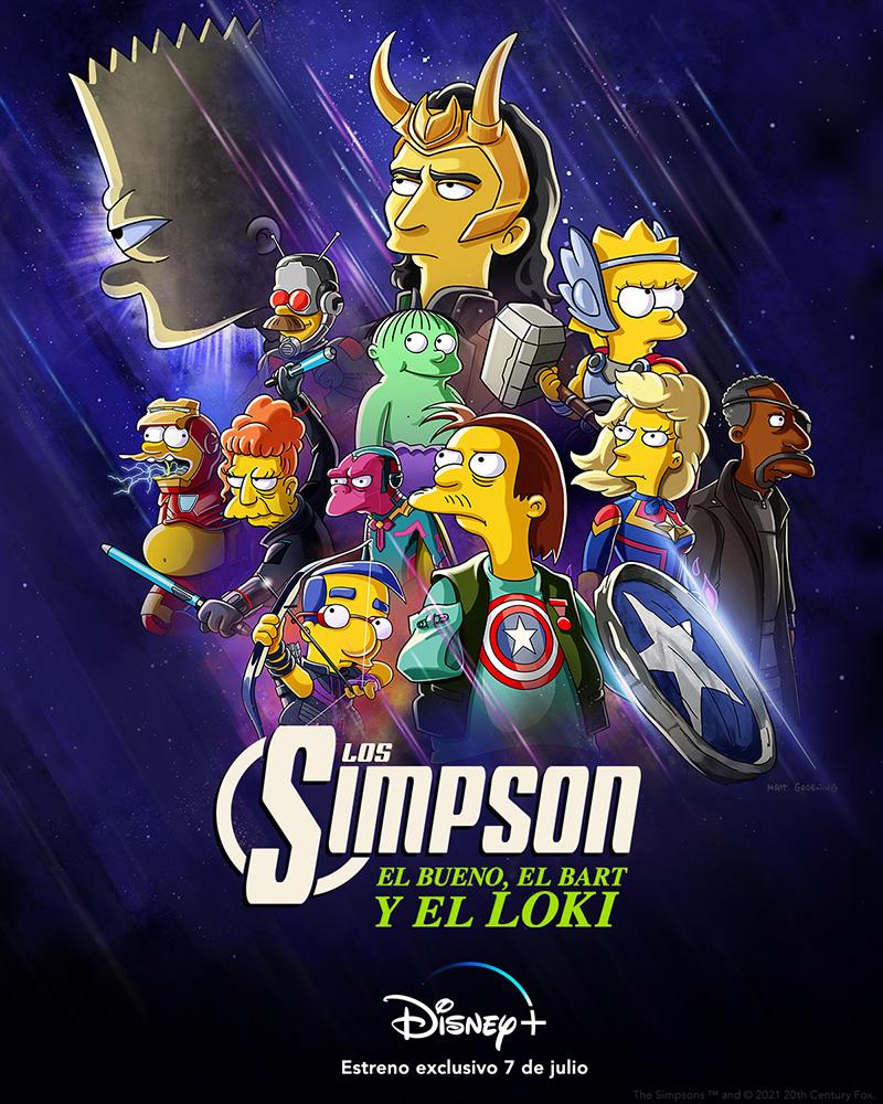 El Bueno, El Bart y El Loki poster