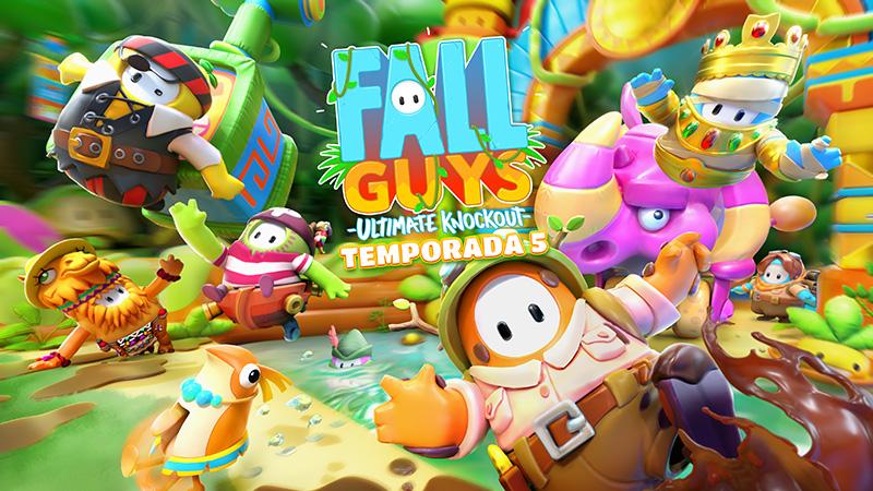 Fall Guys: Ultimate Knockout Temporada 5 ahora nos lleva a la jungla