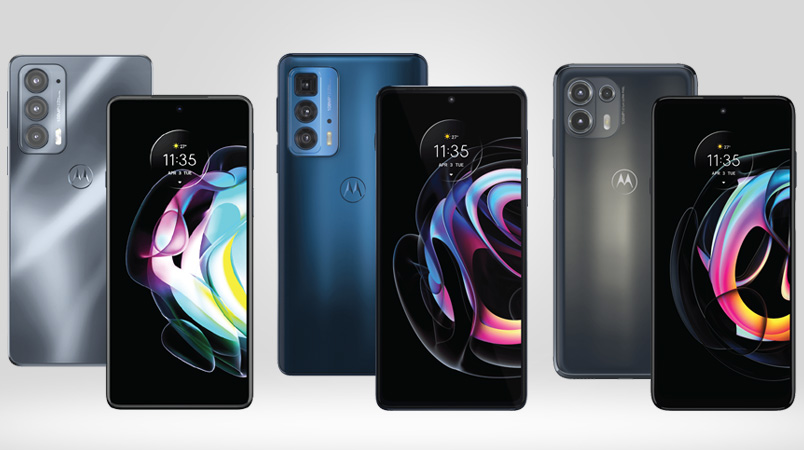 Motorola presenta los nuevos edge 20 Pro, edge 20 y edge 20 lite