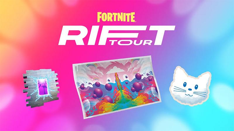 Fortnite Rift Tour recompensas