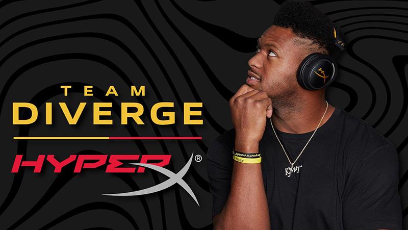 HyperX es socio de Team Diverge del jugador JuJu Smith-Schuster