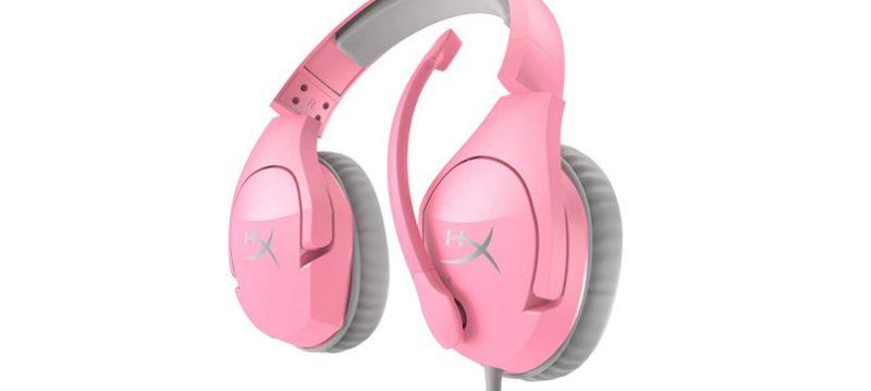 HyperX Mexico Cloud Stinger color rosa