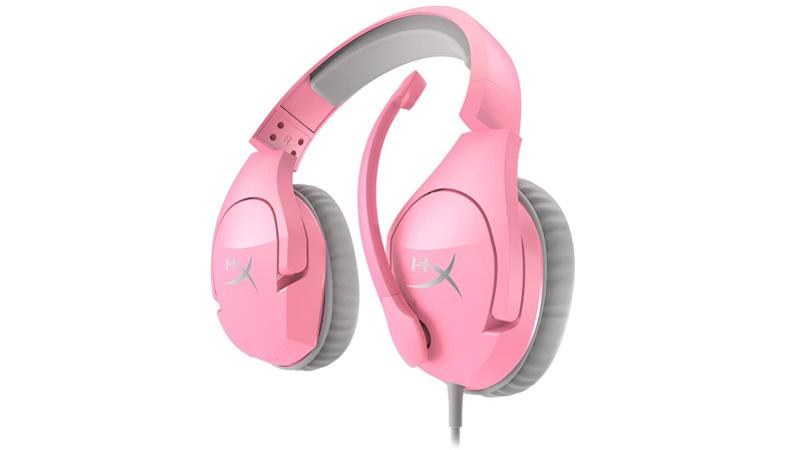 HyperX Cloud Stinger color rosa ya están disponibles en México