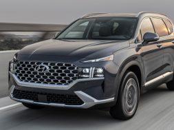 Hyundai Santa Fe 2022 en Mexico frontal