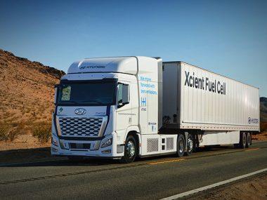 Hyundai XCIENT Fuel Cell california