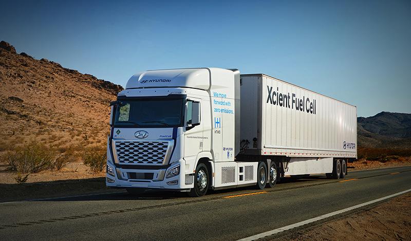 Hyundai XCIENT Fuel Cell inicia sus recorridos en Estados Unidos