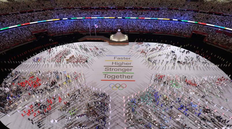 Juegos Olimpicos Tokyo 2020 estradio inauguracion