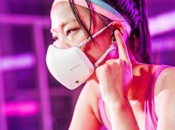 LG PuriCare Wearable Air Purifier altavoz