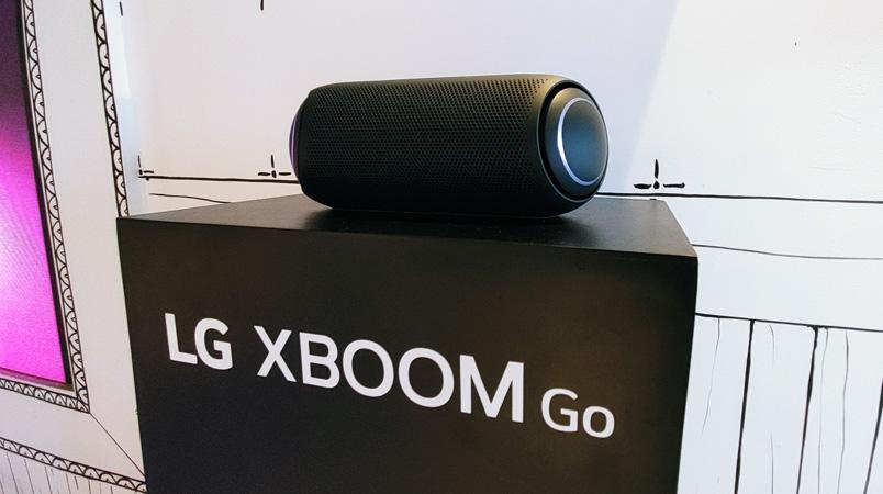 LG XBOOM Go PL7 ofrece la experiencia de audio en Fantasy Lab