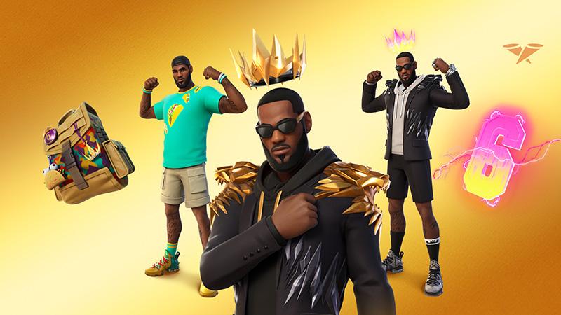 LeBron James es el nuevo ídolo de Fortnite y llega el 14 de julio