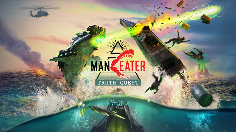 Maneater Truth Quest poster