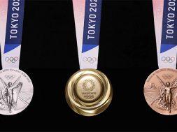 Medallas Olimpicas Tokyo 2020