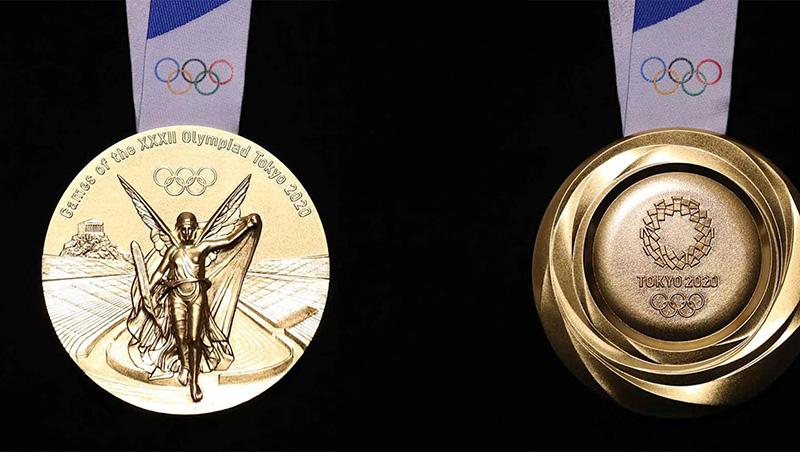 Medallas Olimpicas Tokyo 2020 oro