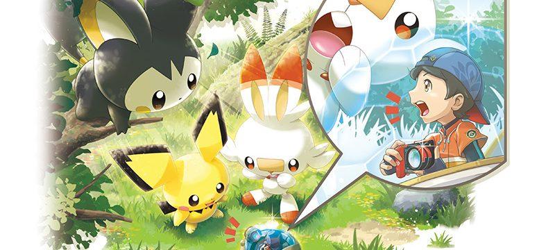 New Pokémon Snap actualizacon gratuita agosto arte