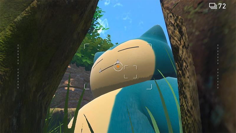 New Pokémon Snap actualizacon gratuita agosto snorlax