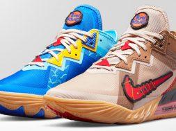 Nike LeBron 18 Low del Coyote y el Correcaminos