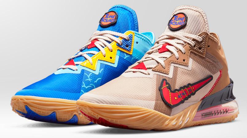 Estos son los Nike LeBron 18 Low del Coyote y el Correcaminos
