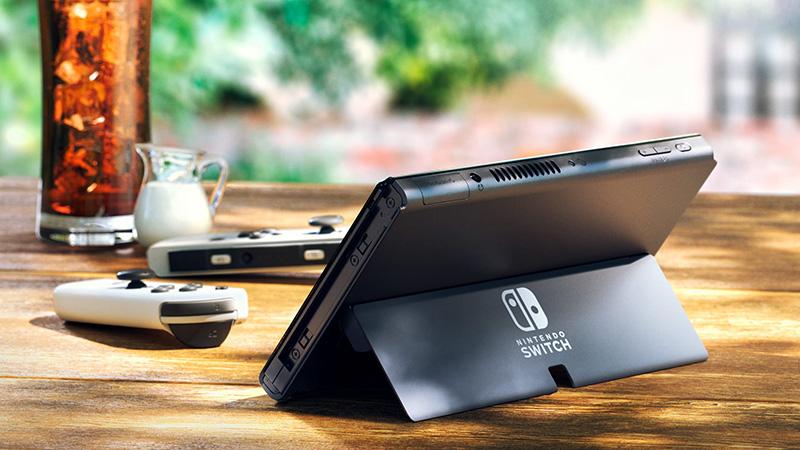 Nintendo Switch OLED Modo Mesa