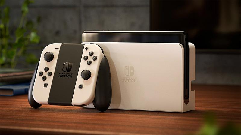 Nintendo Switch OLED blanco y negro