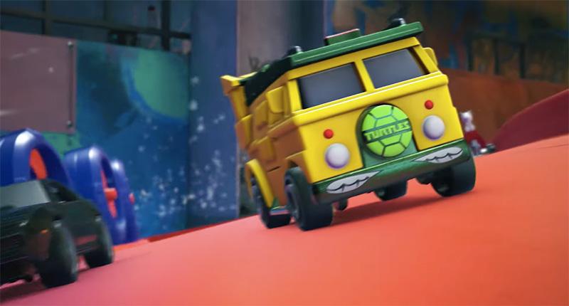 Party Wagon, Snoopy, K.I.T.T. y el DeLorean en Hot Wheels Unleashed