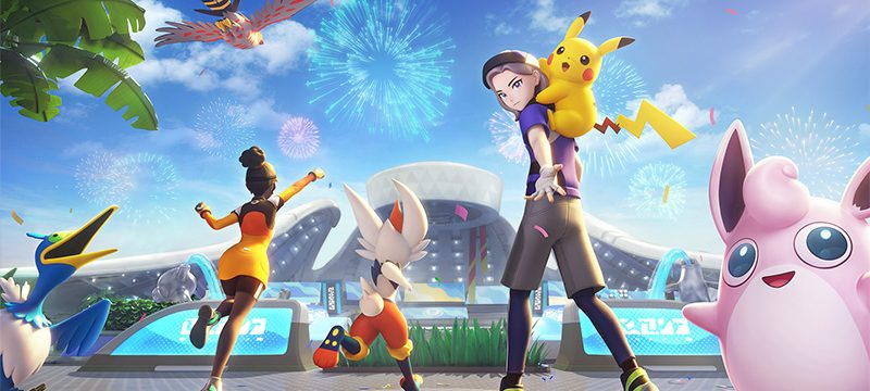 Pokemon UNITE lanzamiento
