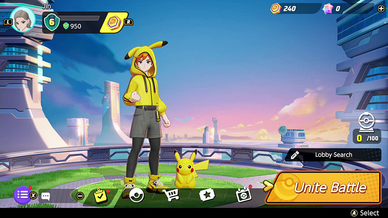 Pokemon UNITE lanzamiento Nintendo Switch