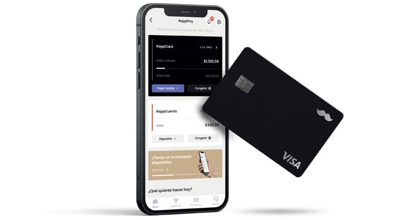 RappiCard alcanza los 250 mil usuarios en tan solo seis meses