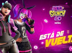 Reto Sponch 3 Fortnite