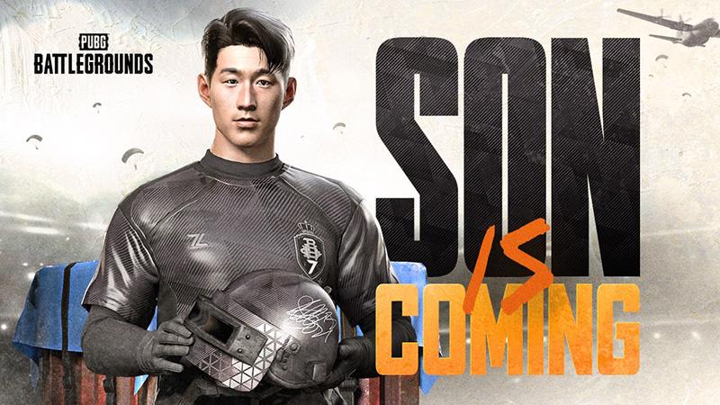 El futbolista Son Heung-Min se une a la batalla de PUBG: Battlegrounds