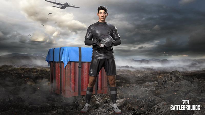 Son Heung-Min x PUBG Battlegrounds