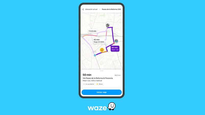 Waze se mejora para que tengas la información antes de salir de casa