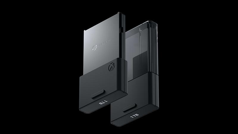 Xbox Series X memoria SSD Seagate cambio