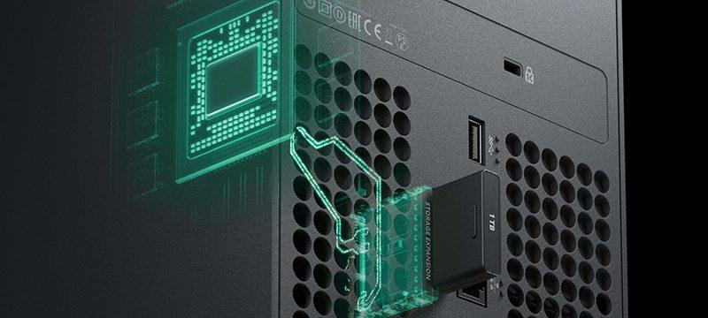 Xbox Series X memoria SSD cambio