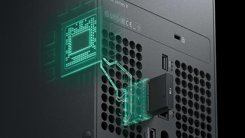 Así de sencillo es aumentar la memoria de tu Xbox Series X