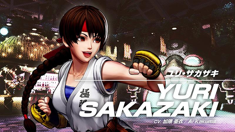 YURI SAKAZAKI KOF XV