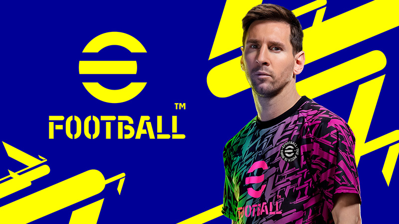 eFootball anuncio logo