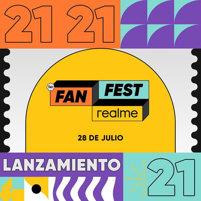 realme Fan Fest México 2021 evento