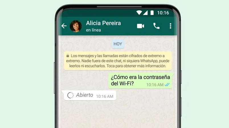 10 cosas que debes saber de la función visualización única de WhatsApp