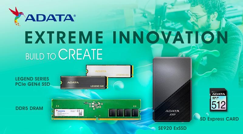 Nuevas soluciones de almacenamiento de ADATA en Xtreme Innovation