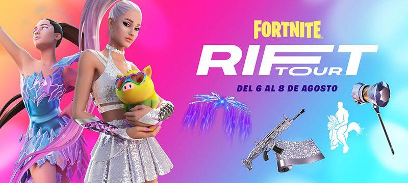 Ariana Grande Rift Tour show