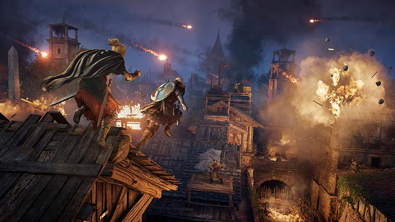 Assassins Creed Valhalla El Asedio de Paris DLC