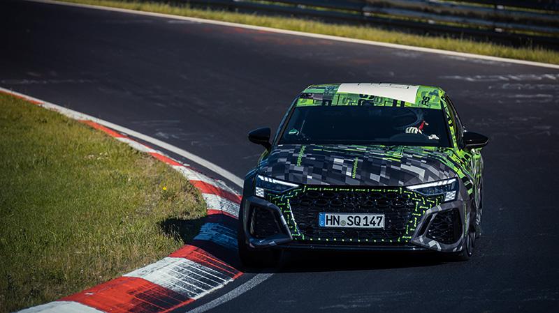 Audi RS 3 Nurburgring Nordschleife