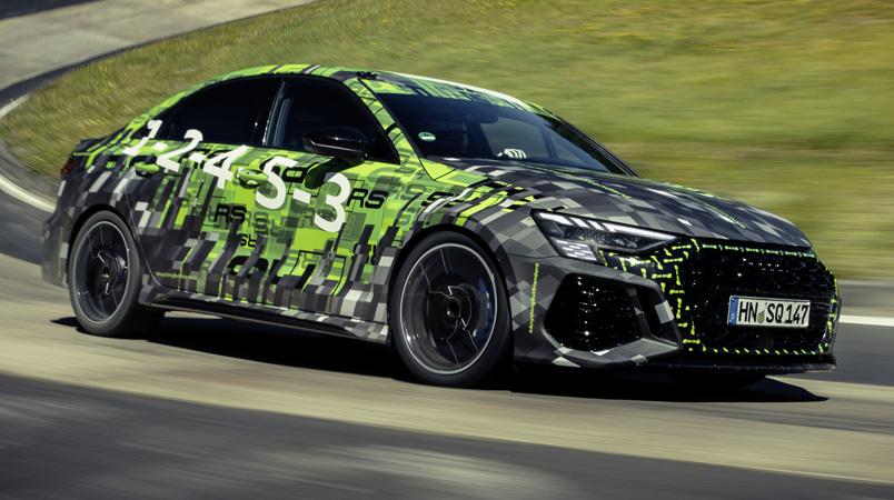 Audi RS 3 es el vehículo compacto más rápido en Nürburgring