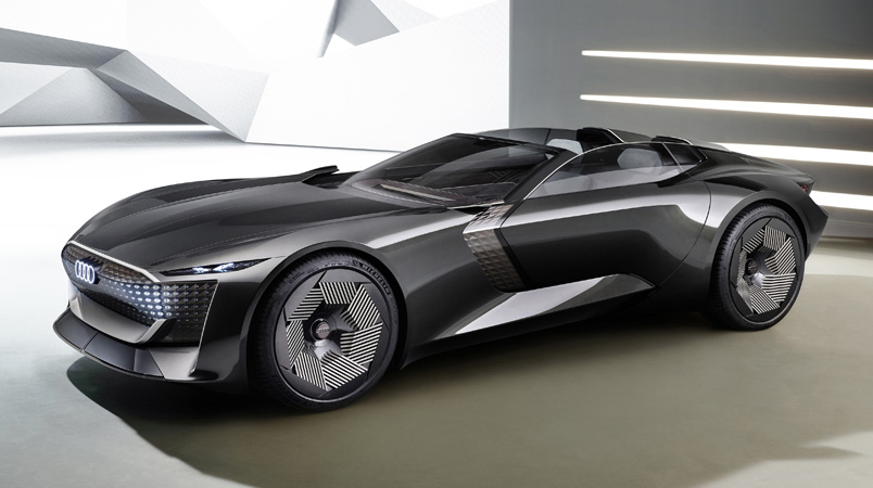 Audi skysphere concept costado