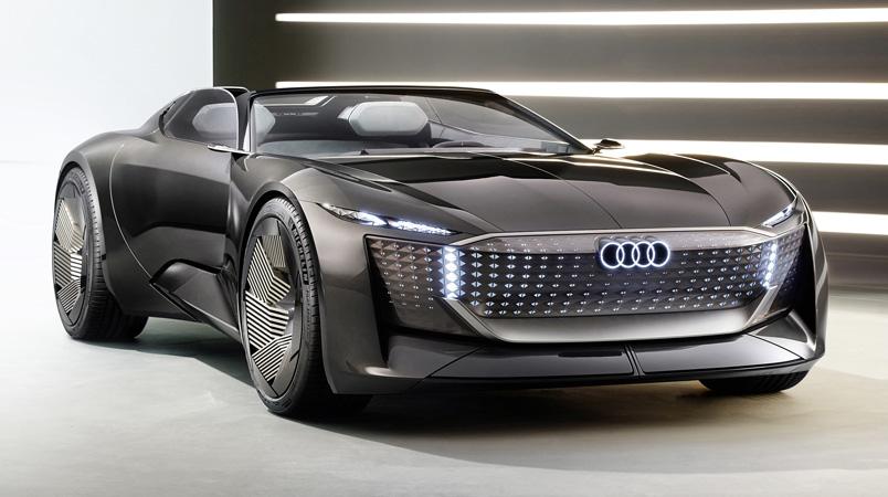 Audi skysphere concept nuevo Roadster con propulsión eléctrica