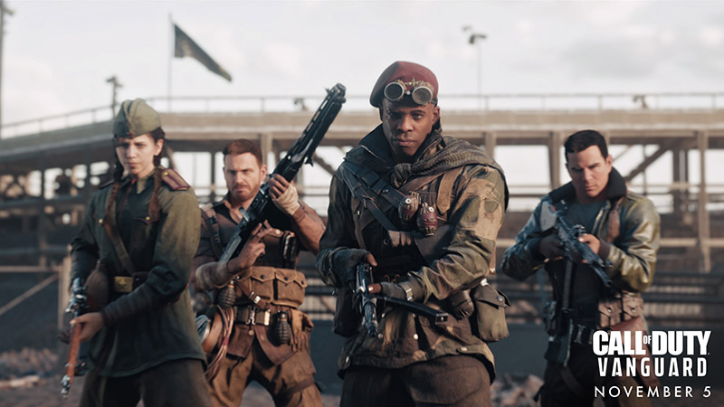 Call of Duty Vanguard PlayStation Alpha Champion Hill modo