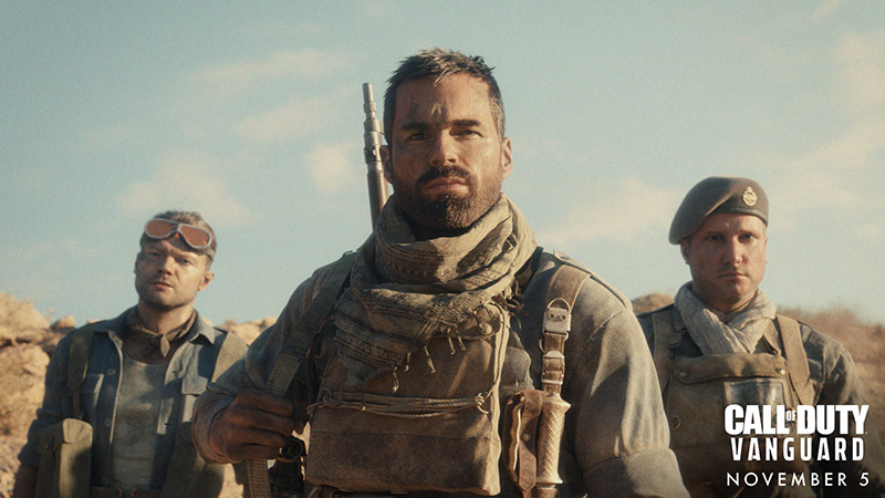 Call of Duty Vanguard anuncio operadores
